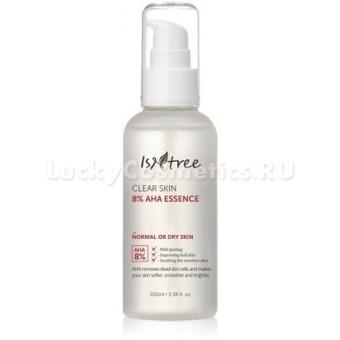 Отшелушивающая эссенция с AHA-кислотами IsNtrее Clear Skin 8% AHA Essence