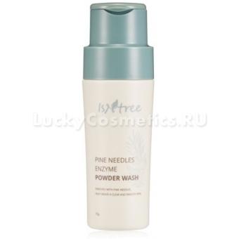 Пудра для умывания с энзимами и экстрактом хвои IsNtrее Pine Needles Enzyme Powder Cleanser