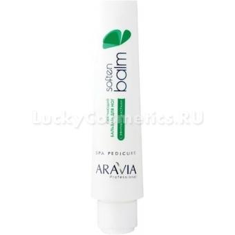 Смягчающий бальзам для ног с эфирными маслами Aravia Professional Soft Balm