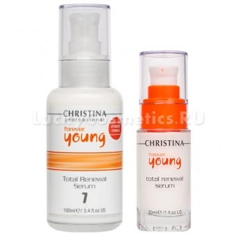 Омолаживающая сыворотка для лица Christina Forever Young Total Renewal Serum
