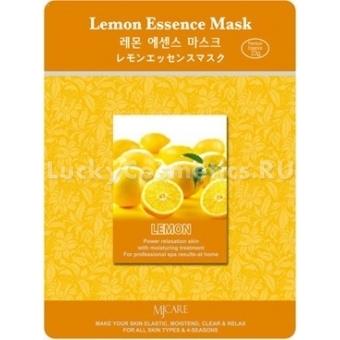 Листовая маска лимонная Mijin Cosmetics Lemon Essence Mask