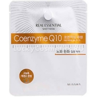 Маска для лица Missha Real Essential Sheet Mask (Coenzyme Q10)