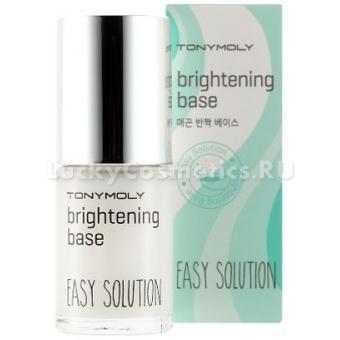 База для яркого маникюра Tony Moly  Easy solution brightening base