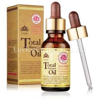 Сыворотка для иссушенной кожи Lioele Total Manager Oil