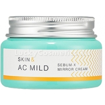 Питательный крем для лица Holika Holika Skin and AC Mild Sebum X Mirror Cream