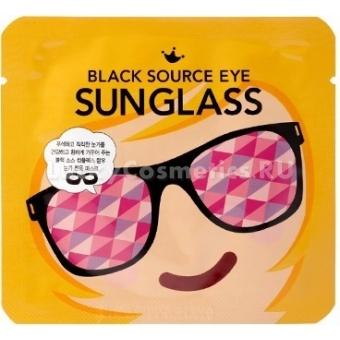 Маска для кожи вокруг глаз Shara Shara Black Source Eye Sunglass