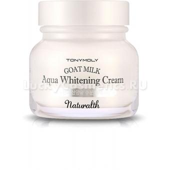 Осветляющий крем с козьим молоком Tony Moly Naturalth Goat Milk Aqua Whitening Cream