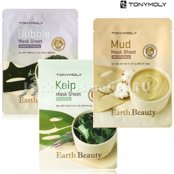 Маска с эффектом пилинга Tony Moly Earth Beauty Mask Sheet