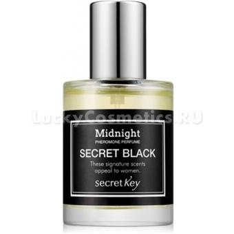 Мужской парфюм с феромонами Secret Key Midnight Pheromone Perfume Secret Black