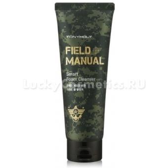 Мужская очищающая пенка Tony Moly Field Manual Smart Foam Cleanser