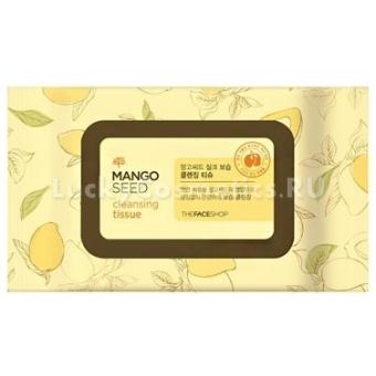 Влажные салфетки The Face Shop Mango Seed Cleansing Tissue