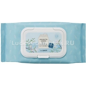 Очищающие салфетки The Saem Healing Tea Garden Cleansing Tissue
