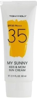 Солнцезащитный крем для мам и детишек Tony Moly My Sunny Kids