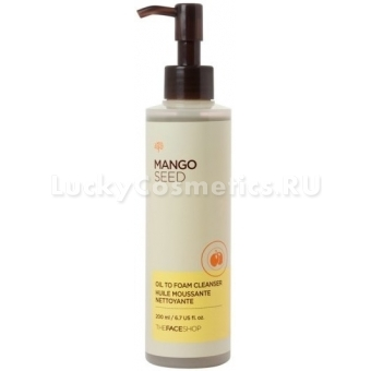 Гидрофильное масло The Face Shop Mango Seed Oil To Foam