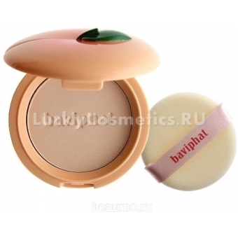 Компакт-пудра Baviphat Sugar Girl Peach Sebum Solution Pact