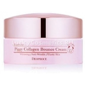 Омолаживающий крем Deoproce Piggy Collagen Bounce Cream