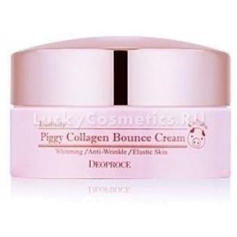 Омолаживающий крем Deoproce Piggy Collagen Bounce Cream