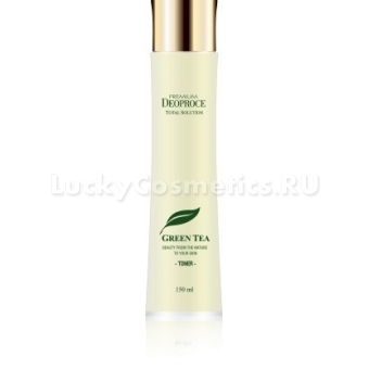 Тонер с зеленым чаем Deoproce Green Tea Total Solution Toner