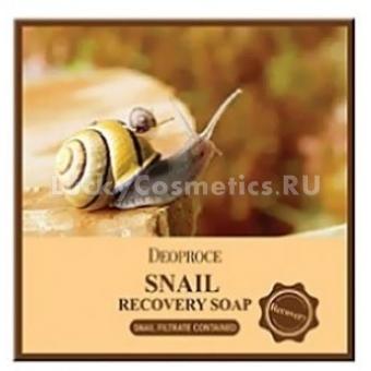 Мыло с экстрактом улитки Deoproce Snail Soap