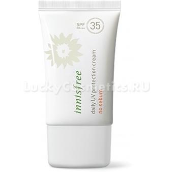 Солнцезащитный дневной крем Innisfree Daily UV Protection Cream No Sebum SPF35/PA+++