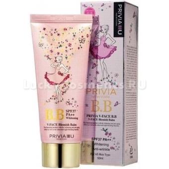 Функциональный ББ - крем SPF-37 RA++ Privia V-Face BB Cream
