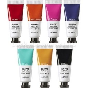 Универсальный цветной пигмент The Saem Semi Pro Multi Color