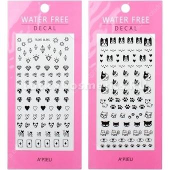 Наклейки для ногтей A'Pieu Water Free Decal