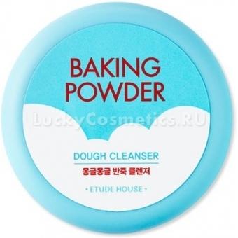 Очищающий крем-пенка с содой и лимонным маслом Etude House Baking Powder Dough Cleanser