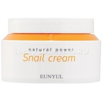 Антивозрастной крем с улиточным муцином Eunyul Natural Power Snail Cream