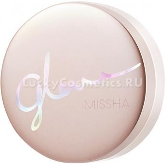 Тональный кушон с гиалуроновой кислотой Missha Glow Tension SPF50+ PA+++