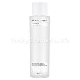 Глубоко увлажняющий тоник с 4 видами гиалуроновой кислоты A'Pieu Hyaluthione Soonsoo Essence Toner