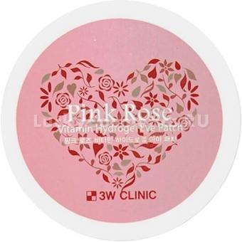 Патчи для век 3W Clinic Pink Rose Vitamin Hydrogel Eye Patch