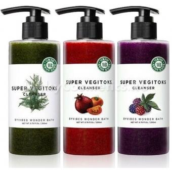 Пенка для умывания Wonder Bath Super Vegitoks Cleanser