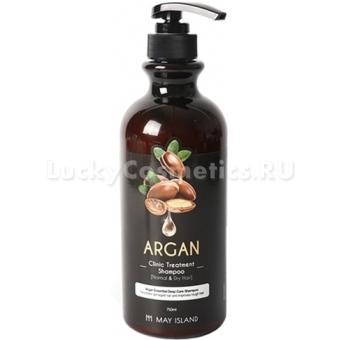 Шампунь для волос с аргановым маслом May Island Argan Clinic Treatment Shampoo