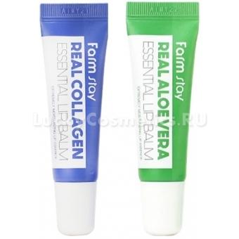 Бальзам для губ FarmStay Real Essential Lip Balm