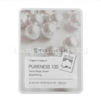 Тканевая маска для лица с экстрактом жемчуга Tony Moly Pureness 100 Pearl Mask Sheet