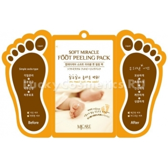 Пилинг-пак для ступней Mijin Cosmetics Foot peeling pack
