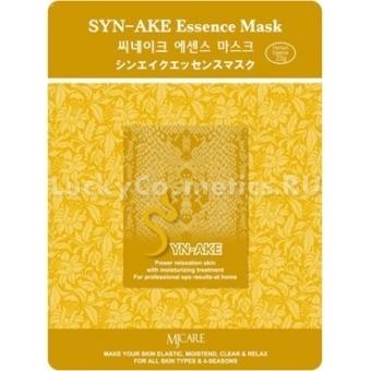 Листовая маска со змеиным пептидом Mijin Cosmetics Syn-Ake Essence Mask