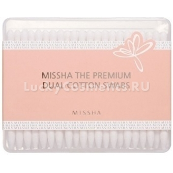 Ватные палочки косметические Missha Premium Dual Cotton Swab