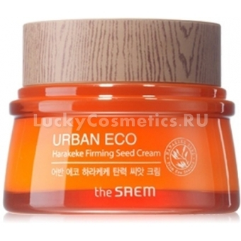 Восстанавливающий крем с экстрактом новозеландского льна The Saem Urban Eco Harakeke Firming Seed Cream