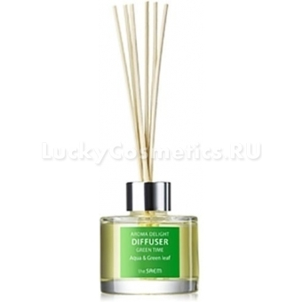 Ароматический диффузер The Saem Aroma Delight Diffuser Green Time