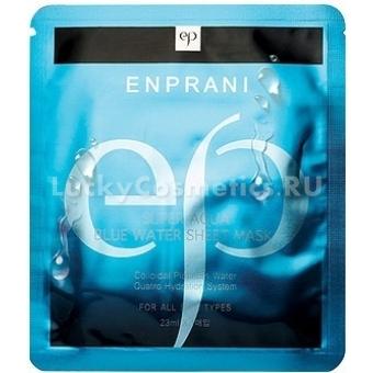 Маска тканевая глубокоувлажняющая Enprani Super Aqua Blue Water Sheet Mask