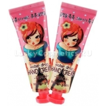 Крем для рук Royal Skin Water Drop Hand Cream - Peach