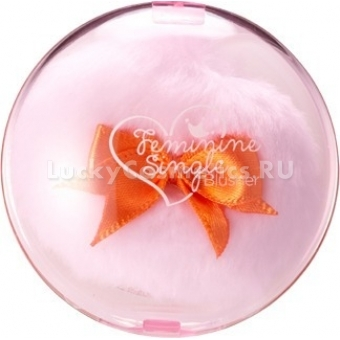 Румяна Shara Shara Feminine single Blusher Pale Pink