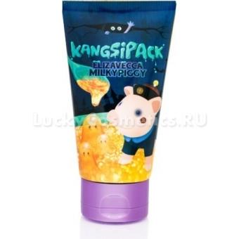 Маска для сужения пор с золотом Elizavecca Milky Piggy Kangsipack