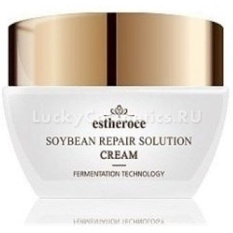 Крем с экстрактом сои  Deoproce Estheroce Soybean Repair Solution Cream