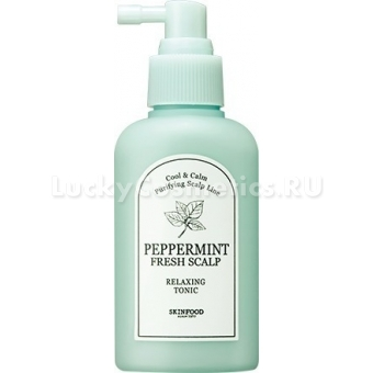 Тоник для кожи головы и волос Skinfood Peppermint Fresh Scalp Relaxing Tonic