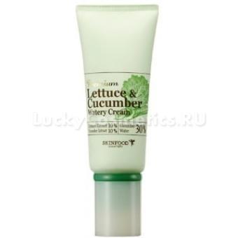 Экстраувлажняющий крем с экстрактами огурца и латука Skinfood Premium Lettuce & Cucumber Watery Cream