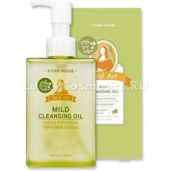 Гидрофильное масло Etude House Real Art Cleansing Oil Mild