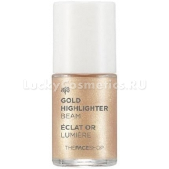 Золотой хайлайтер The Face Shop Gold Highlighter Beam